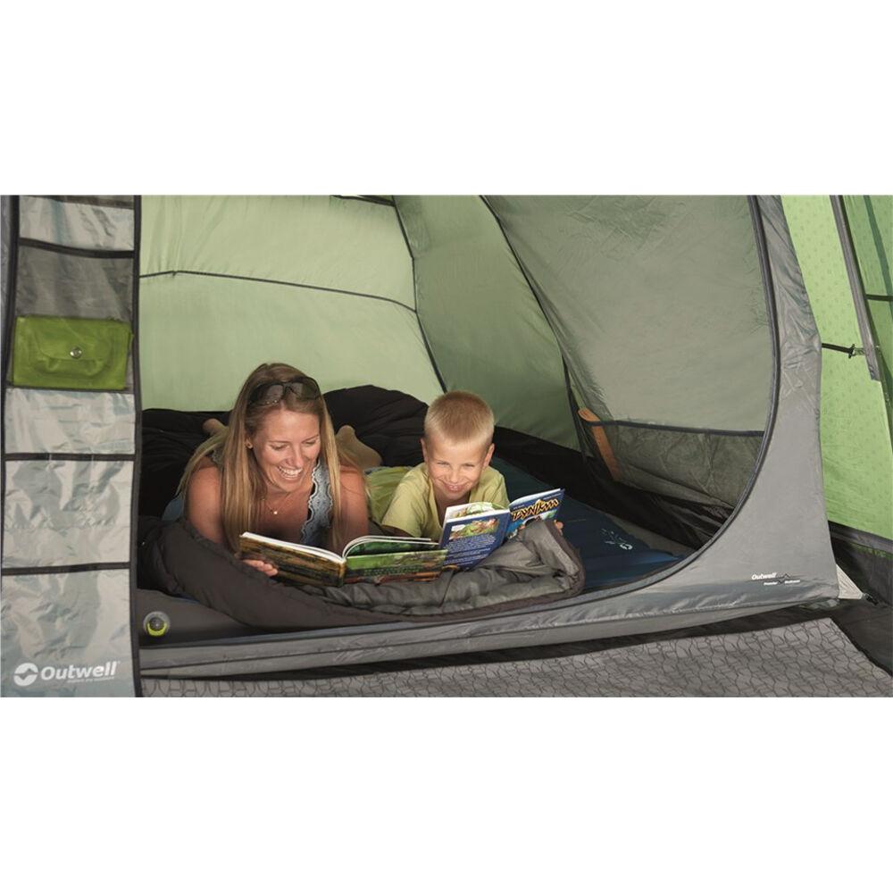 2 personer Uppblåsbar Madrass Sovsäck Tält Dubbel Tält Ett